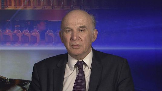 Vince Cable.