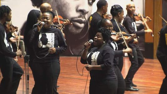 Soweto Music School set up by Buskaid