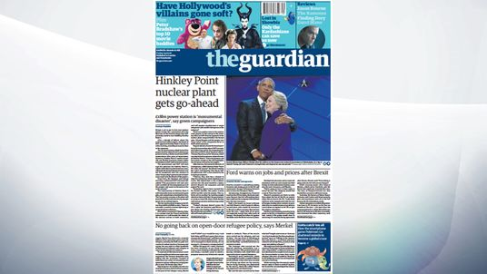 Hinkley Point C will be the first UK nuclear plant for a generation, says the Guardian