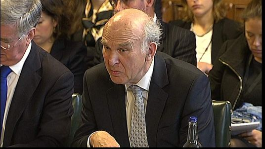 Vince Cable Appears Before MPs