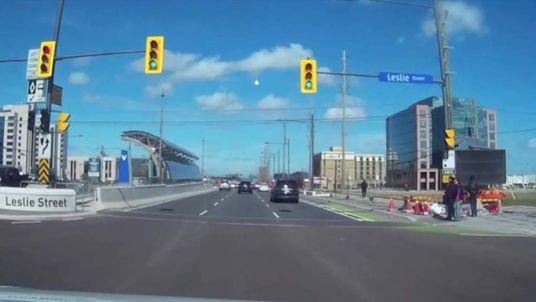 Meteor streaks across Ontario sky. Pic: YouTube/ccinhk
