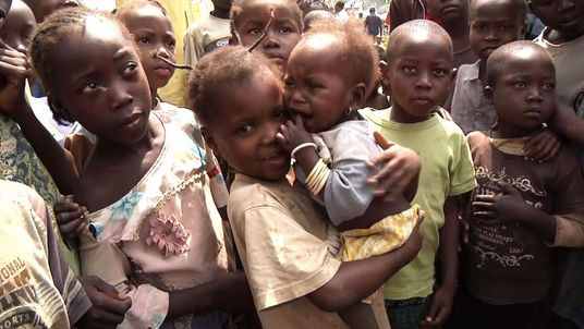 Children in Central African Republic
