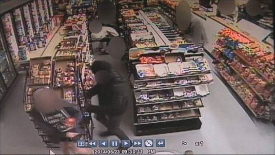 Isla Vista drive-by shooting CCTV