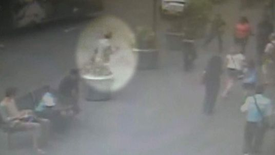 CCTV of Empire State gunman