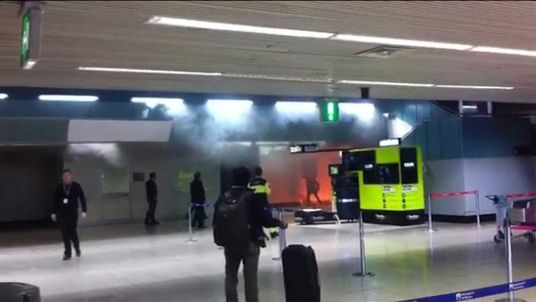 Man reportedly sets himself on fire at Fuimicino Airport