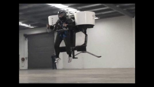 Jetpack developed by Martin Aircraft Company