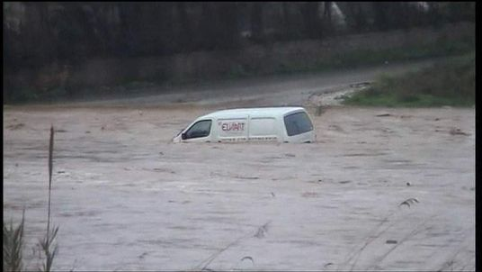 Flooding in Athens, Greece