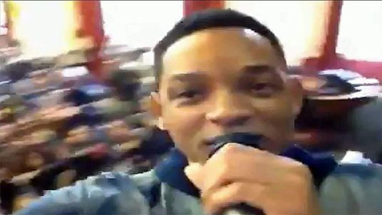 Will Smith at a girls' school in Brixton, south London
