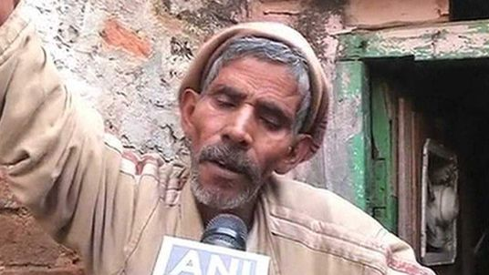 Mangi Lal, father of India gang rape suspect Ram Singh
