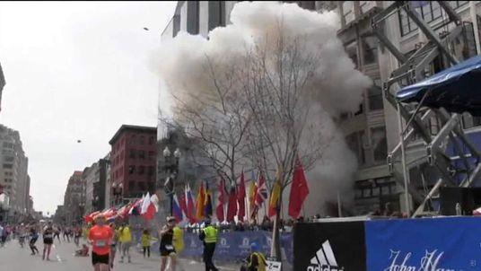 Twin blasts at Boston Marathon