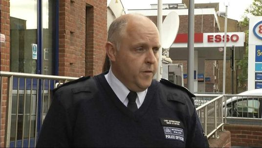 Commander Simon Letchford of the Metropolitan Police