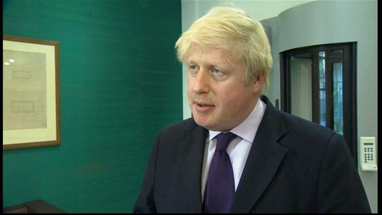 The Mayor of London Boris Johnson speaks about the attack in Woolwich