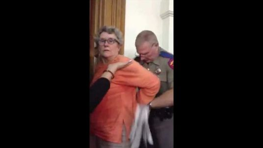 Opponent of Texas abortion bill is arrested in the state Capitol