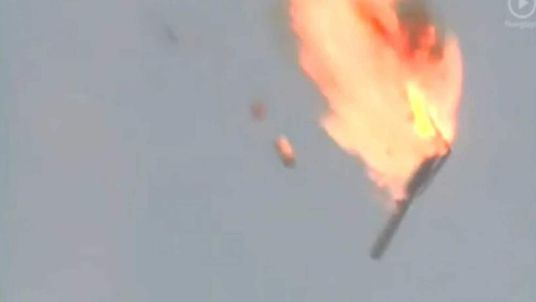 Russia rocket fail