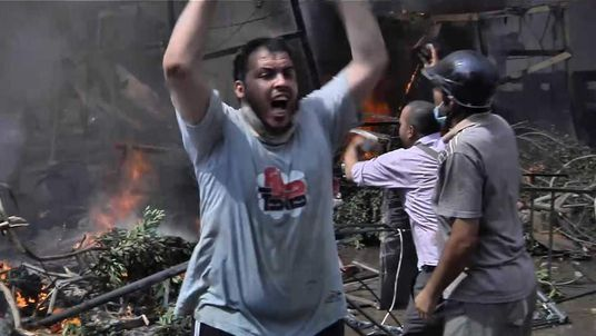Mick Deane's last report on clashes in Cairo, Egypt