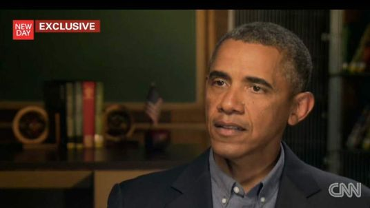 Barack Obama talking to CNN's New Day about chemical weapons in Syria