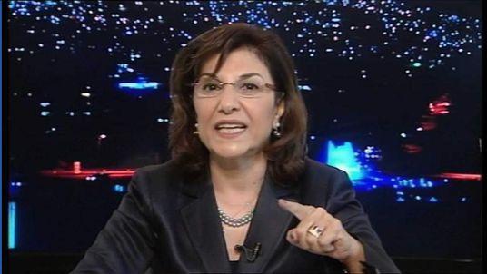 Dr Bouthaina Shaaban, an adviser to Syrian President Bashar al Assad