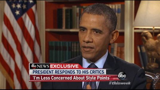 President Obama On ABC Interview