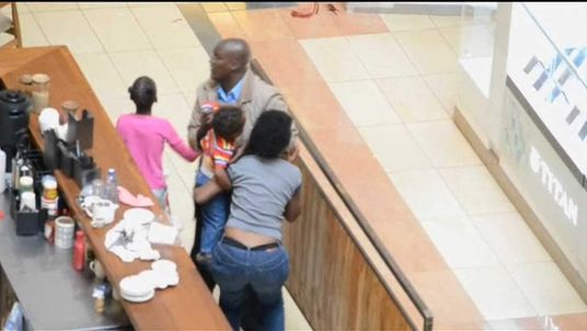 Rescue inside Kenya Westgate mall