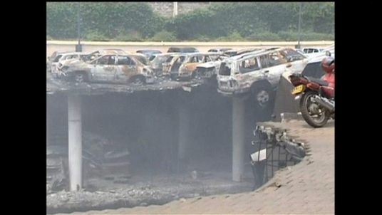 Kenya mall wreckage