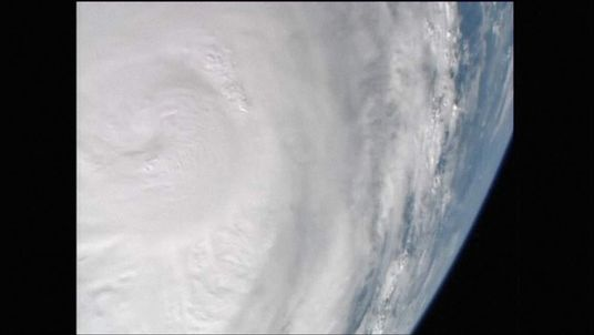 Super Typhoon Haiyan seen from space. Pic: Nasa