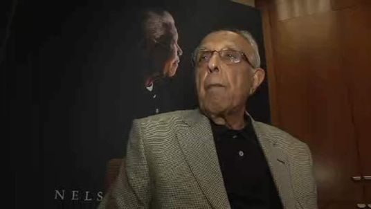 FELLOW PRISONER & FRIEND of Nelson Mandela AHMED KATHRADA