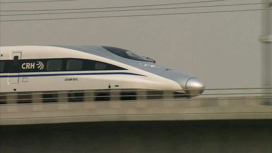 China high speed trains