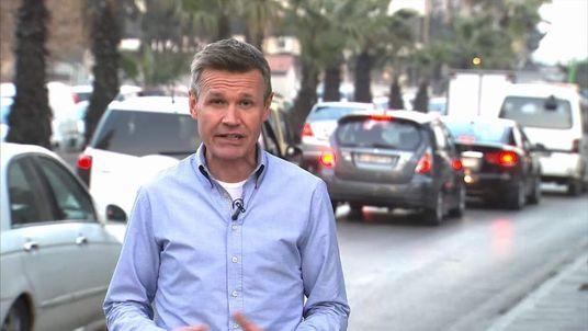 Robert Nisbet in Damascus, Syria
