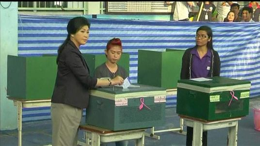 Thailand Vote: 10% Of Polling Stations Closed