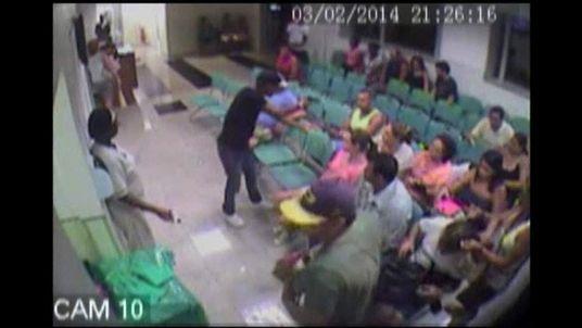 Brazil Hospital Armed Robery