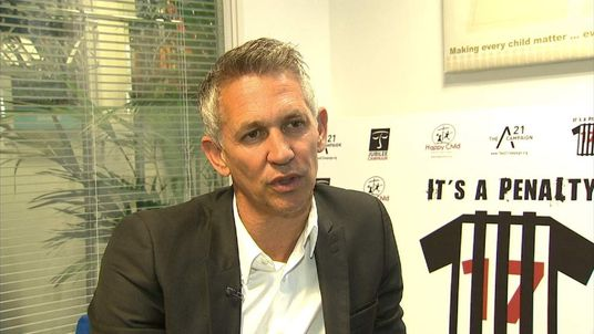 Gary Lineker On Brazil Child Prostitution Campaign