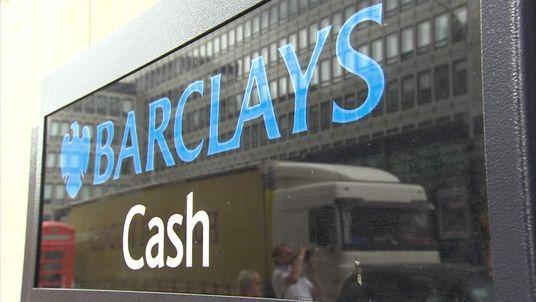 A Barclays cash machine