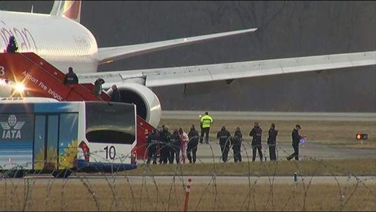 Geneva jet hijack