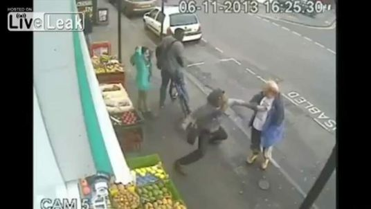 CCTV of incident that lead to Andrew Young's death