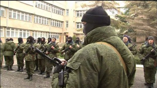 Crimea's leader swears in new special forces recruits
