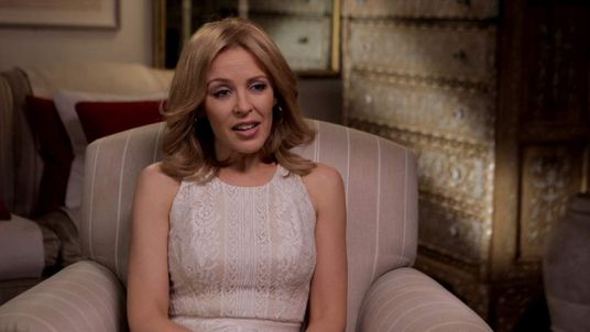 Kylie Minogue speaks to Sky News.