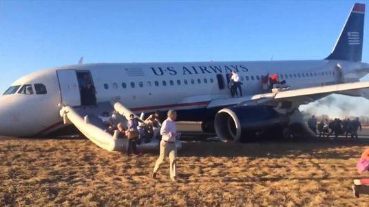 Philadelphia aborted takeoff