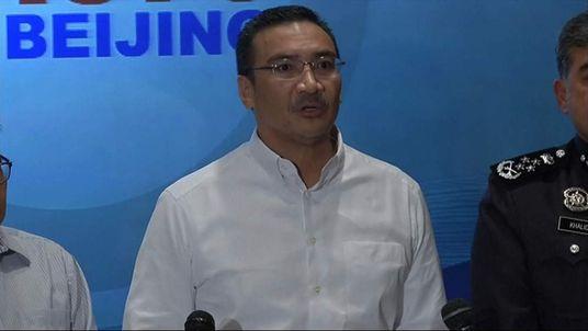 Malaysian Transport Minister Hishamuddin Hussein.