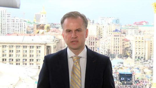 "Ukraine's deputy foreign minister told Sky News Russia needed to ""stop this madness""."