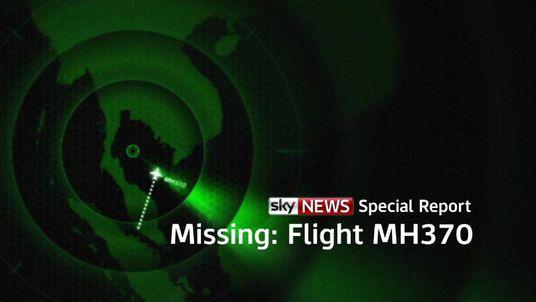 Sky News Special Report - Missing: Flight MH370