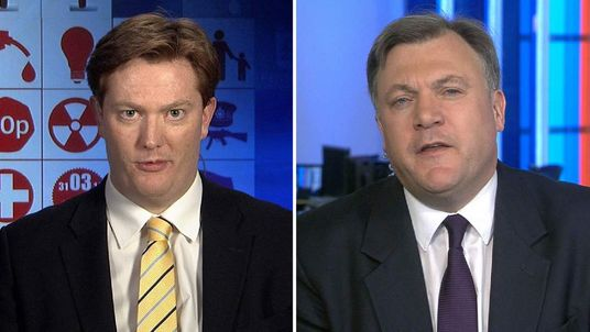 Danny Alexander and Ed Balls debate the budget