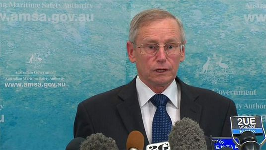 Missing MH370 Australian Maritime Safety Authority Spokesman