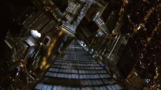 Freedom tower base jump