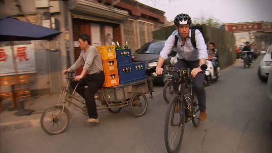 Sky's Mark Stone cycles through Beijing