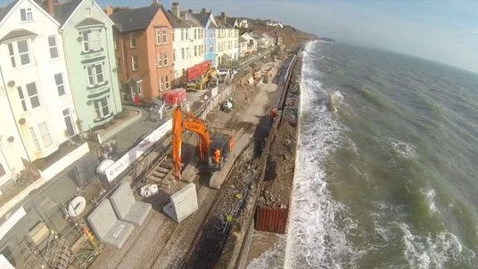 DAWLISH Archive Drone Footage
