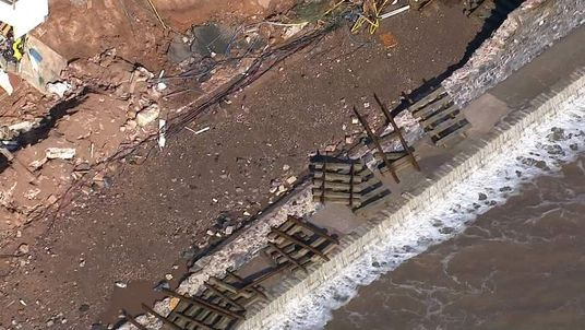 DAWLISH Archive Damage video