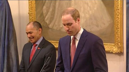 Prince William speech