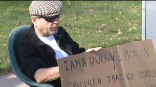Convicted bully Edmond Aviv