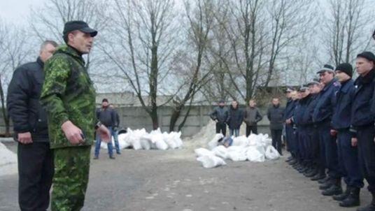 Police in Horlivka
