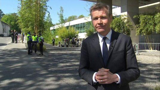Sky correspondent Robert Nisbet reports from the Ukraine crisis talks in Geneva.